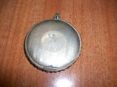 Rare Vintage Golf Compact with Clear and Red by MICSJWL on Etsy, $54.00