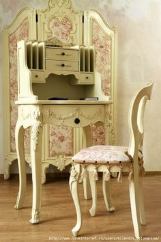 New shabby chic bedroom girls dream rooms chairs 47 ideas Shabby Chic Mode, Shabby Chic Cottage, Vintage Shabby Chic, Shabby Chic Style, Shabby Chic Decor, Etsy Vintage, Shabby Chic Furniture, Vintage Furniture, Painted Furniture