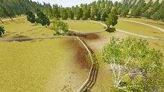 WORLDS Sims 3 Worlds, Aurora Sky, Beautiful Landscapes, The Neighbourhood, Country Roads, River, Outdoor, Outdoors, The Neighborhood