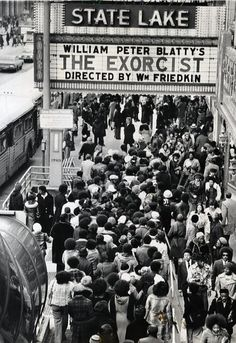 The Exorcist 1973, Film Books, Movies Showing, Old Town, Vintage Photos, Science Fiction, The Past, Horror, Old Things