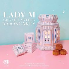 Lady M Mooncake packaging Smart Packaging, Brand Packaging, Graphic Design Typography, Branding Design, Graffiti Lettering, Mid Autumn Festival, Moon Cake, Packaging Design Inspiration, Box Design