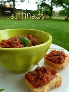La tartinade provençale (tomates séchées, anchois, ail, basilic, huile d'olive)
