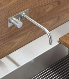VOLA 122 Built in Mixer Tap: Vola Brassware is the cream of the crop of Scandinavian brassware design, available from UK Bathrooms. Prices on request, just bob us an email through: sales@ukbathrooms.com