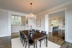The most beautiful dining room we ever did see!