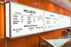 Restaurant menus are, in essence, a list of offerings that can be prepared for you and served by an establishment. The word menu originated from the Menu Signage, Restaurant Signage, Signage Design, Restaurant Design, Restaurant Identity, Retail Signage, Menu Board Design, Menu Design, Cafe Design