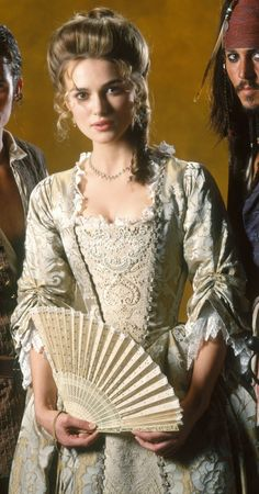 Pirates of the Caribbean Dead Man's Chest Keira Knightley, Elizabeth Swann Costume, Elisabeth Swan, 18th Century Fashion, Dead Man, Movie Costumes, Pirates Of The Caribbean, Narnia, Grunge
