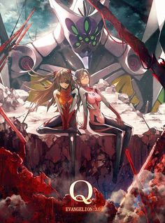 Rebuild of Evangelion 3.0  -- Q gonna go see this next wek woooo!!!!