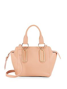 See by Chloé Paige Leather Satchel - S
