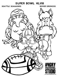 FREE COLORING PAGE Download Here Angrysquirrelstudio