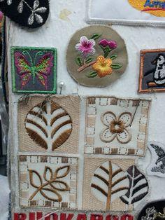 꽃문양자수(Flower embroidery patterns)