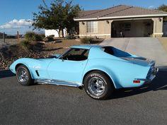 Old Corvette, Chevrolet Corvette Stingray, Chevy Classic, Best Classic Cars, My Dream Car, Dream Cars, Unique Cars, American Muscle Cars, Drag Racing