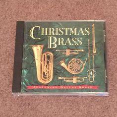 Christmas Brass Featuring Dallas Brass (CD, Music, Christmas, Holiday, 1994) #Christmas