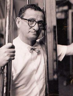 Erwin Blumenfeld self-portrait, 1955
