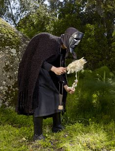 """farmwitch: """"Charles Freger photographed and travelled through 19 countries to collect this stunning collection of photos of European Pagan Rituals surviving to this day. """" These are so weird I live Tribal Costume, Folk Costume, Costumes, Tribal Outfit, Charles Freger, The Doors Of Perception, Post Apocalyptic Fashion, Portraits, Photo Essay"""