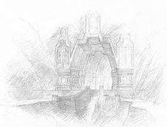 Erebor Gate 3 by TurnerMohan