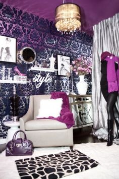 Every girly-girl's dream room, for when their older...