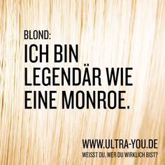 LEGENDÄR WIE EINE MONROE. Erfahre mehr unter: ultra-you.de