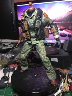Custom 1/6 scale action figures kit bash kitbash collections 1/6th