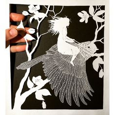 15 Incredible Paper Cut Masterpieces by Maude White. Paper Humans Tell Their Magic Stories Full Of Poetry.