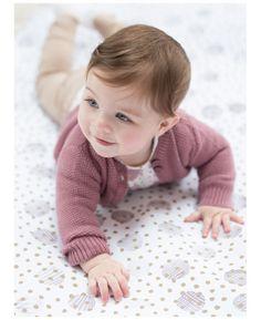 Sweet newborn meisjes vestje Mia4