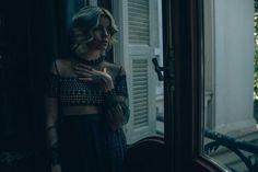 #atelierdosi #hautecouture #deepblue #macrame dress #transparencies #fashioneditorial #myholydays @asaajatha