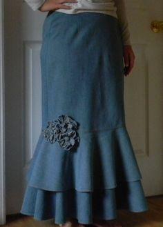 circle ruffles. <3 it! Ruffled Dresses #2dayslook #RuffledDresses #jamesfaith712 www.2dayslook.com