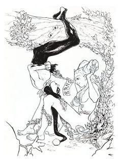 Harley Quinn & Poison Ivy by Sara Pichelli