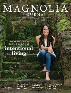 A Magnolia Journal subscription is great for home decor enthusiasts and features inspiration from experts Chip and Joanna Gaines.