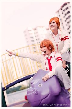 Lovely complex cosplay