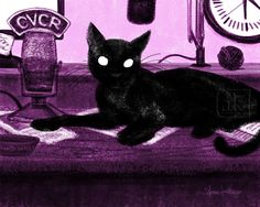 annekelleyart: Cat Cecil