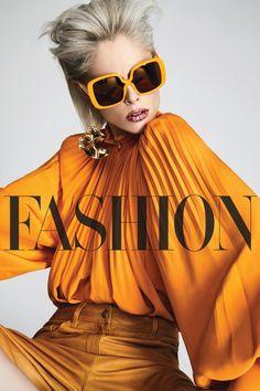 Coco Rocha lands the April 2017 cover for FASHION Magazine.