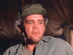 """M*A*S*H - Staff Sergeant Luther Wilson Rizzo was in charge of the motor pool. Though the motor pool seemed to function well, it did so despite Rizzo's casual work style and frequent naps. - George William """"G.W."""" Bailey (born August 27, 1944) is an American stage, television and film actor"""