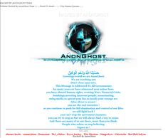 Anonghost has hacked and defaced the official website of state of Louisiana's Rapides Parish Police Jury (RPPJ), Southern Heritage Bank and Finland based Churchill bank.