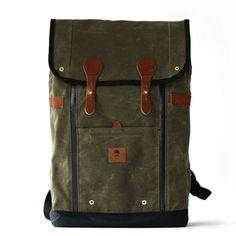 Wheelmen & Co. — Babylon Backpack- Martini Olive- Svpply