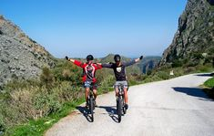 Explore Crete with a bike and our local guide. Find new places and create memories that will stay in your minds and hearts. Asphalt Road, Green Valley, White Mountains, North Coast, Bike Trails, Tandem, Crete, Time Travel, Trip Advisor