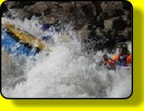 White water river rafting on the Ash River just outside Clarens (www.outragousadventures.co.za)