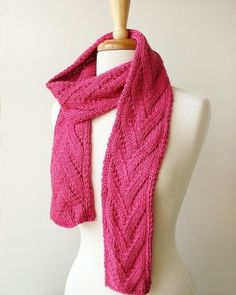 Honeysuckle Luxurious Knit Scarf by cristina