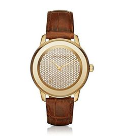 Womens Michael Kors Mk2455 Kinley Brown Leather Glitz Gol... https://www.amazon.com/dp/B01EI7CMX8/ref=cm_sw_r_pi_dp_x_JsP5xbBTZMXG3