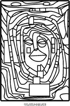 """Résultat de recherche d'images pour """"dessins a imprimer picasso"""""""