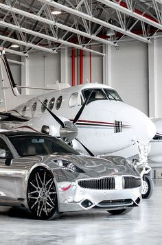 Jetsetter...My ride and private plane in the hangar out back.''' Via ~LadyLuxury~