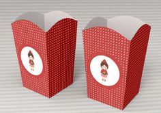 The popcorn boxes are a perfect complement to have a nice detail and dress a bit your table of sweets or salty. By buying this product you receive 1 pdf with 1 model of box and 2 accessories to decorate it: handle and label Handmade Shop, Etsy Handmade, Handmade Gifts, Red Riding Hood Party, Popcorn Boxes, Pretty Patterns, Kids Events, For Your Party, Favor Boxes