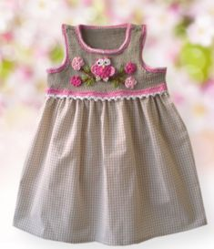 "Diy Crafts - -denız pordogan [ ""Discover thousands of images about Hand knitted dress for baby girl"" ] Chang Toddler Dress, Baby Dress, The Dress, Crochet Girls, Crochet Baby Clothes, Little Girl Dresses, Girls Dresses, Baby Knitting, Knitting For Kids"