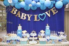 Royal Prince Baby Shower main table