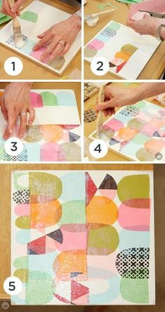 The perfect family activity or DIY work of art for your home, these Paper Collage Craft ideas from Think.Make.Share, a blog from the Creative Studios at Hallmark, are easy and fun to create!