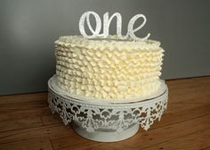 Cake Topper : First Birthday 1 One Smash Cake by CMSDesignStudio