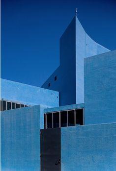 The Blue Theatre, Almada, Portugal.By architects Manuel Graça Dias, Egas José Vieira and Gonçalo Afonso Dias