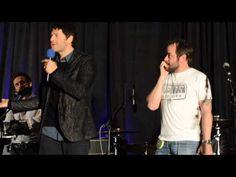 Mark Sheppard Crashes Misha Collins' Panel - YouTube