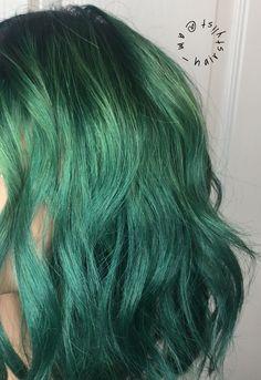 \\ GREENERY \\  #am_hairstylist : @am_hairstylist IG: @am_hairstylist FB: @AMhairstylist  www.aandahaircare.com