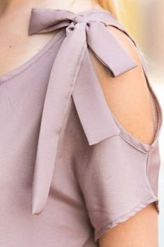 *** New Style ***ribbons, cutouts, loose fit, 90%Polyester 10%Spandex, Made in USA
