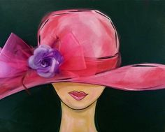 Derby Hat - With Ribbon and Flowers! Limited Seats